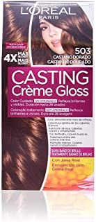 L'Oreal Paris Casting Crème Gloss Coloración Sin Amoniaco Casting Creme Gloss 203, Coloración Permanente, Gold Choco - 1 Coloración Permanente
