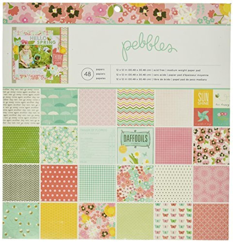 Pebbles 48-Sheet Garden Party Paper Pad, 12 by 12-Inch by Pebbles B01KBB74BA  | Schönes Aussehen