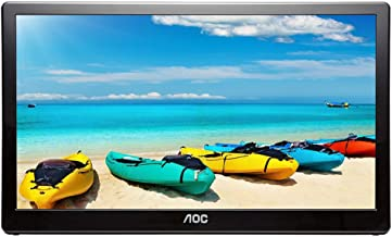 AOC I1659FWUX 15.6in USB-Powered Portable Monitor, Full HD 1920x1080 IPS, Built-in Stand, VESA (Renewed)