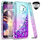 LeYi Galaxy J6 2018 Case with Tempered Glass Screen