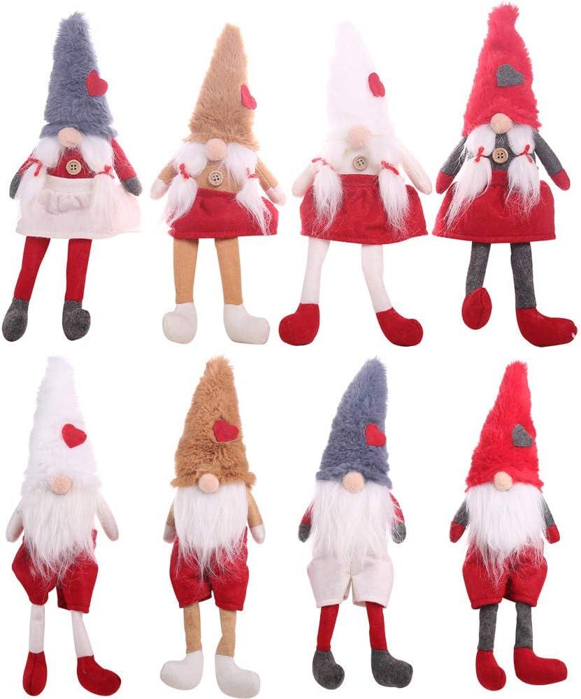 Ennary 8 Pcs Beard Braid Hat 2021 autumn and winter new Halloween Love Christma Popular Dwarf Apron