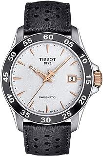 Men's V8 Swissmatic - T1064072603100 Silver/Black One Size