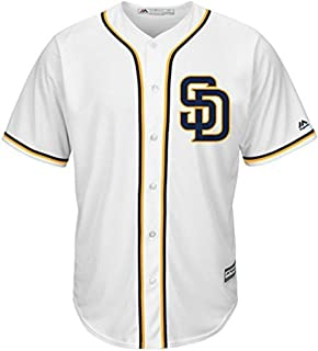 VF San Diego Padres MLB Mens Majestic Alternate Cool Base Replica White Jersey Big & Tall Sizes