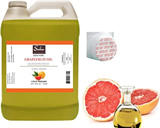 100% Pure Cold Pressed Unrefined Grapefruit Seed Oil -4 LBS