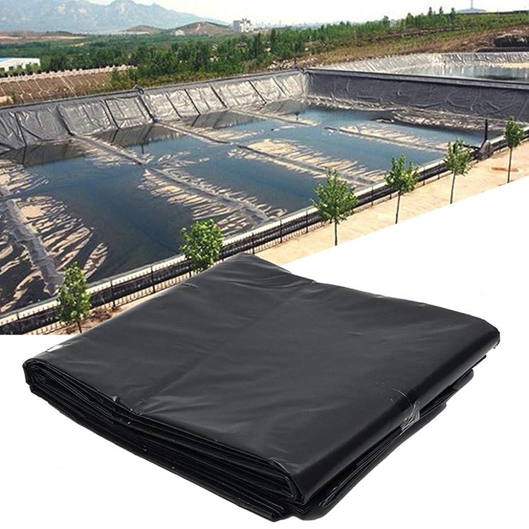 選出するお父さんペインギリックZYT 黒い魚の池のライナー生地、家庭用の庭のプールの補強、不透過性と防水の裏地、厚さ0.4mmの (Size:3*6M)