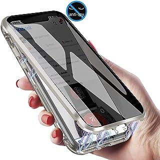 XCYYOO Coque Magnétique Anti Espion Compatible avec Samsung Galaxy S10 Plus,360 Degrés Protection Housse,Face Avant et arr...