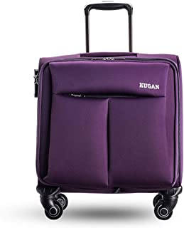 YCYHMY Boarding Suitcase Luggage Trolley case Password Box 16 inch Short Distance Small Box (Purple)