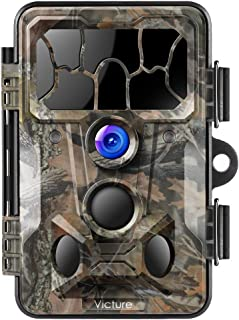 Victure Trail Game Camera 20MP with Night Vision Motion Activated Waterproof and 130° Detection Hunting Camera Trap 1080P ...