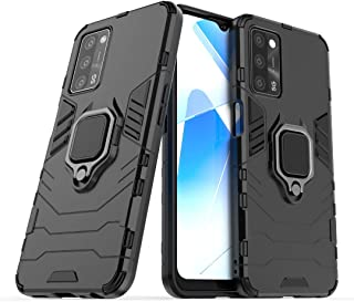 RanTuo Case for Huawei Y6s (2019), TPU + PC Hybrid Armor 2 in 1, Scratch resistant, 360 Degree Rotating Ring Stand, Cover ...