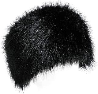 Faux Fur Women Russian Cossack Hat for Ladies Winter
