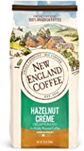 New England Coffee Hazelnut Crème Decaffeinated Medium Roast Ground Coffee 10 oz. Bag