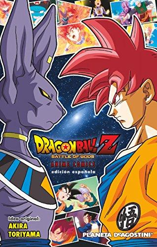 Dragon Ball Z La batalla de los dioses (Manga Shonen)