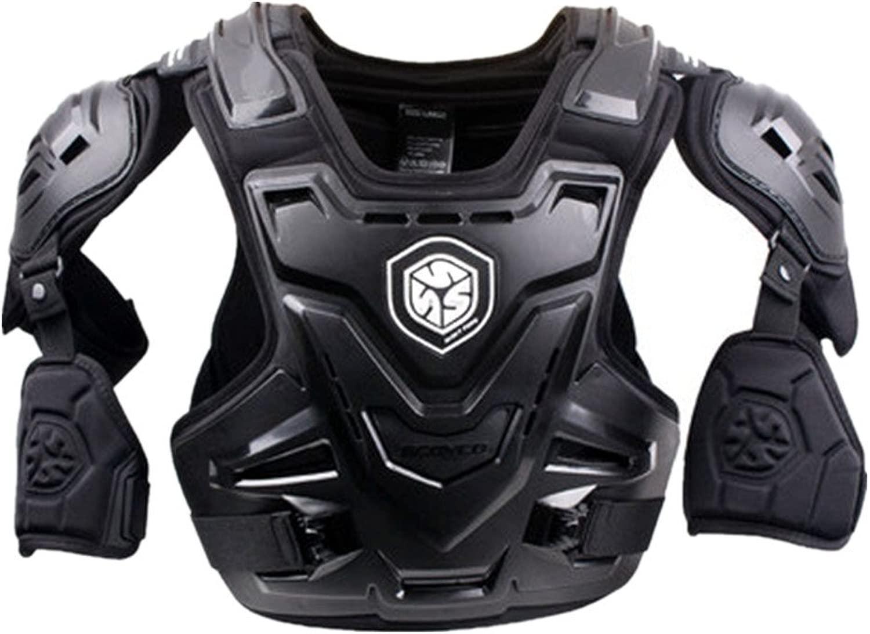 アウトドアスポーツアクセサリー ボディ胸椎プロテクターアーマーベスト防護服用ダートバイクバイクオートバイモトクロススキースノーボードスポーツダートバイク (サイズ : XL)
