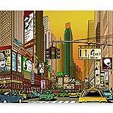 murando Fotomurales 350x270 cm XXL Papel pintado tejido no tejido Decoración de Pared decorativos Murales moderna de Diseno Fotográfico - 10040904-15