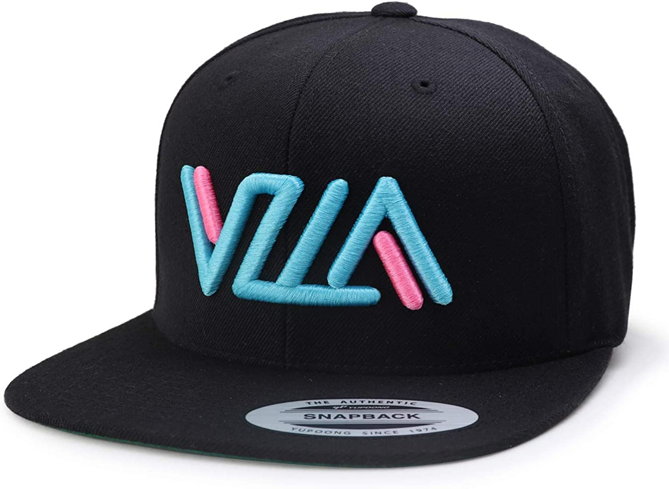 VZLA Snapback hat Flat Bill Cap Premium Quality Durable Comfortable Fit