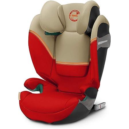 CYBEX Gold Seggiolino Auto per Bambini Solution S i-Fix, per Auto con e senza ISOFIX, Gruppo 2/3 (15-36 kg), da 3 fino a 12 Anni ca, Autumn Gold