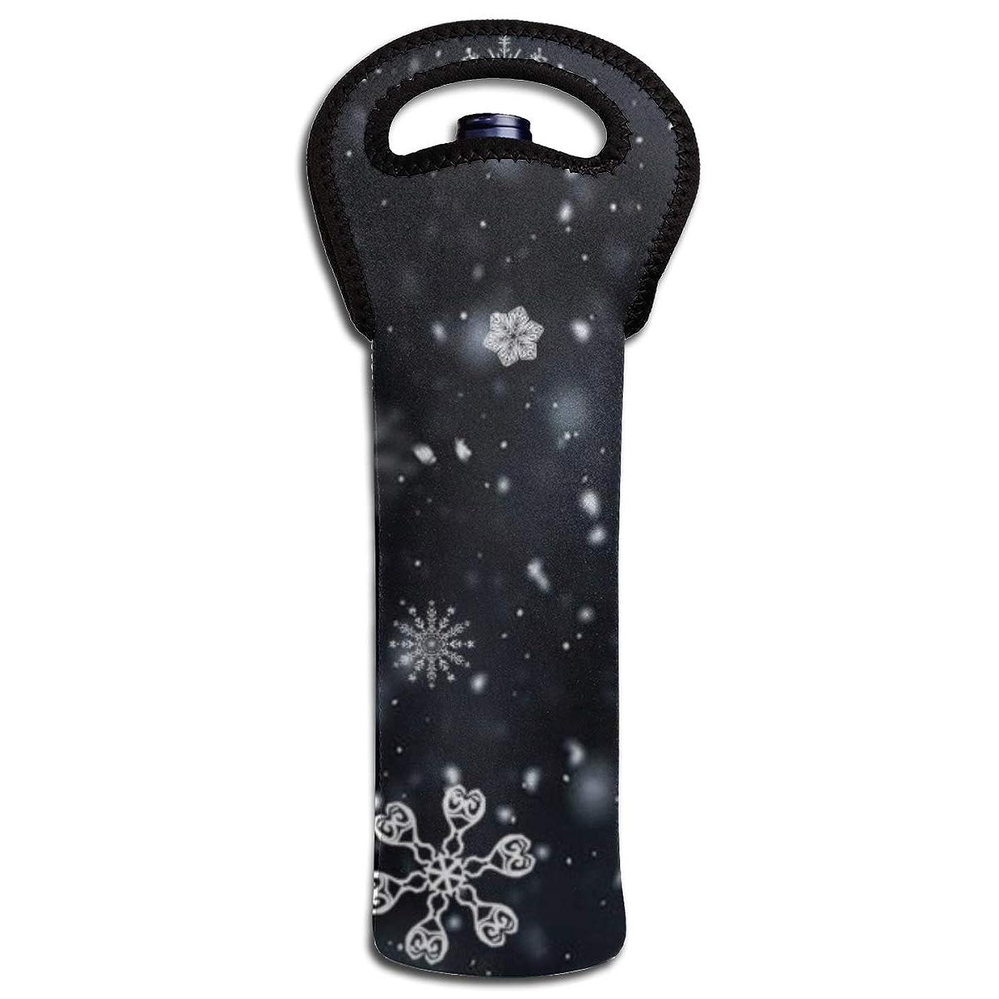 テープスリンク言うORAIN ワインバッグ雪 ボトルバッグ 保冷バッグ 保冷 保温 ワイントートバッグ