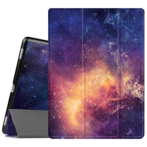 Fintie Case for iPad Pro 12.9 (2nd Gen) 2017 / iPad Pro 12.9 (1st Gen) 2015 - [SlimShell] Ultra Lightweight Standing Protective Cover with Auto Wake/Sleep, Galaxy