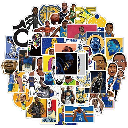 CHENX Stella del Basket Kevin - Durant Graffiti Sticker Trolley per Bagagli Valigia Adesivo Impermeabile per Notebook 50 Zhang