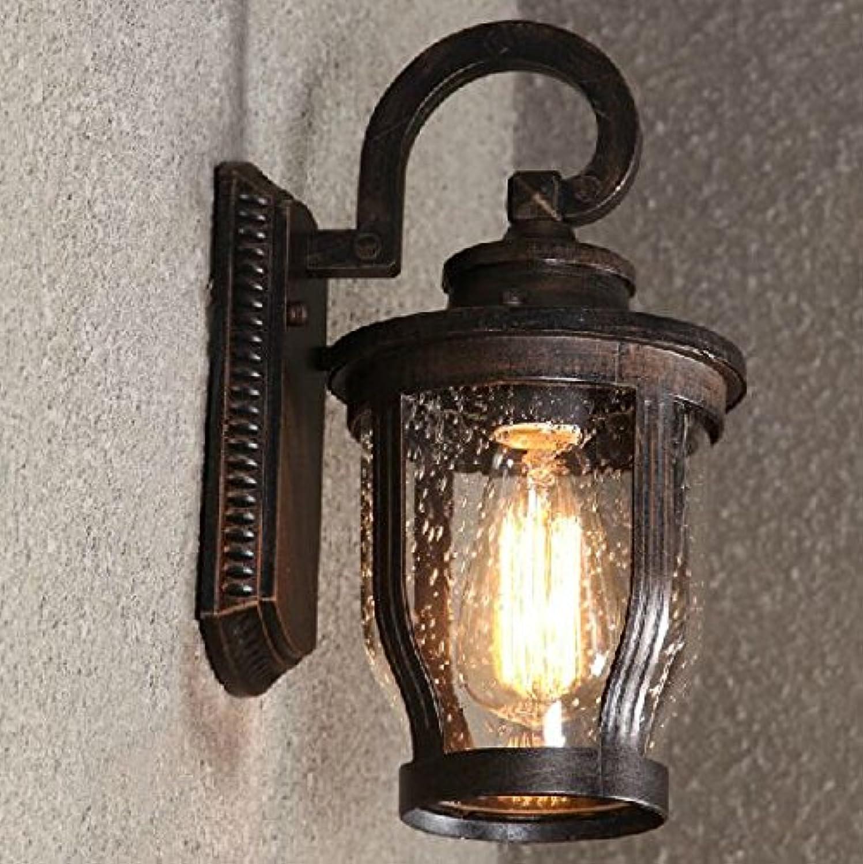 HEYUN& Raindrop Vintage Industrial Wandleuchte Light Glass Home Decor Cafe Outdoor