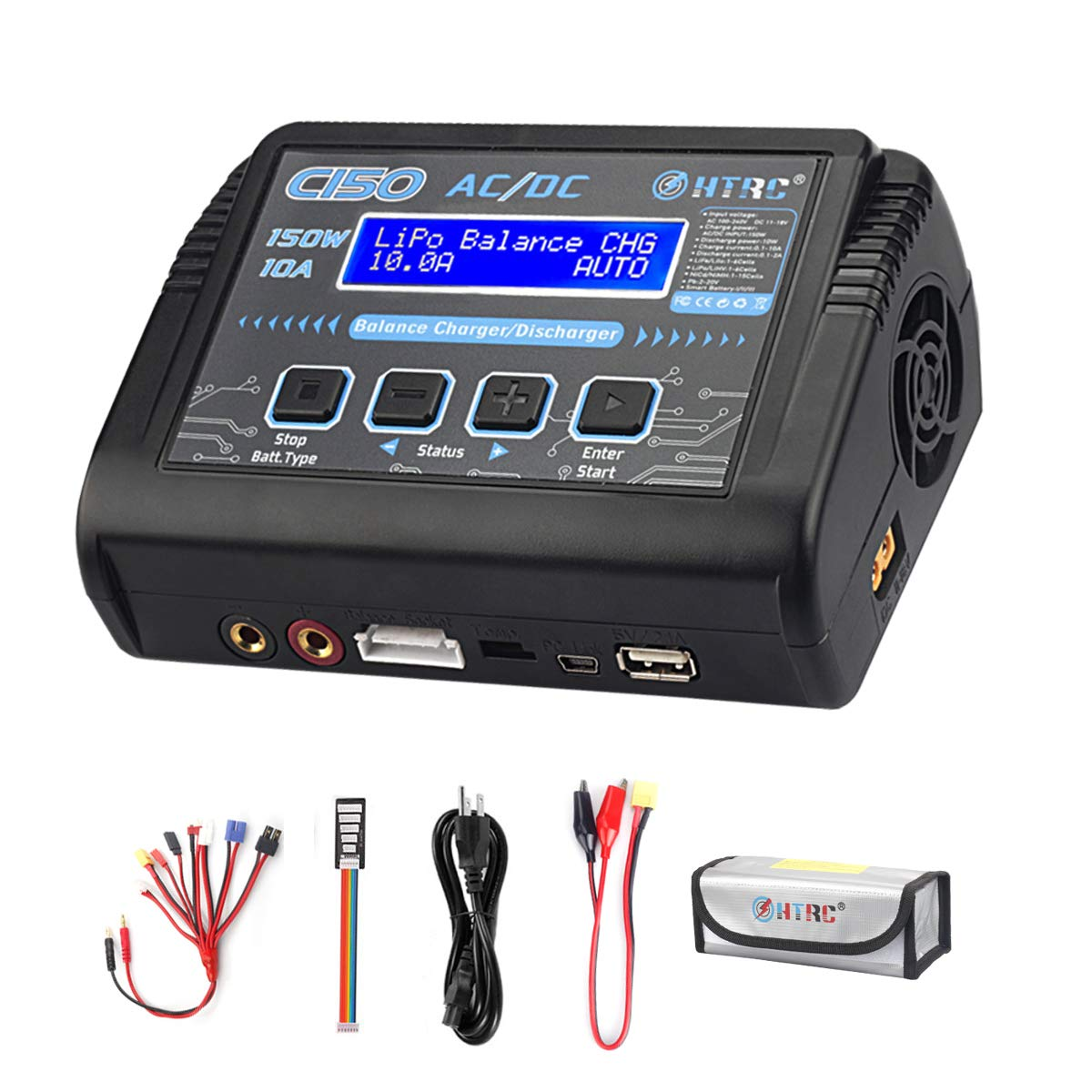 HTRC Charger Battery Balance Discharger