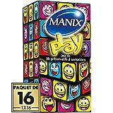 Préservatifs MANIX PLAY Sensations Découvertes - Paquet de 16
