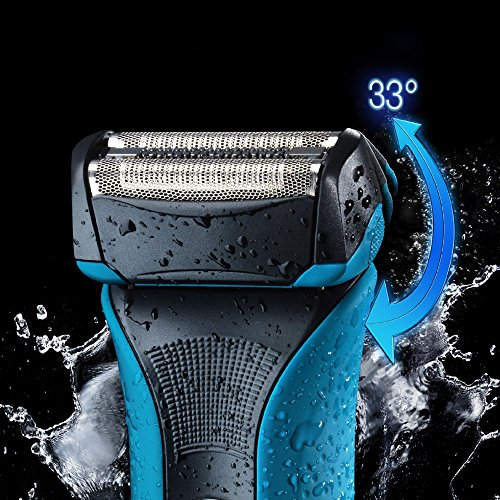 Braun WaterFlex WF2 - Afeitadora eléctrica Wet & Dry, color negro