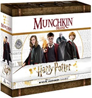 Steve Jackson Games Current Edition Munchkin Harry Potter Deluxe Board Game