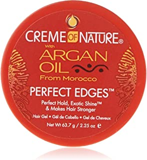Creme of Nature Argan Oil Perfect Edges Control 2.25 oz. Jar (3 Pack)