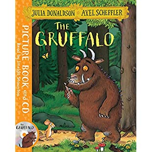 The Gruffalo Book and CD Pack:Maxmartyn