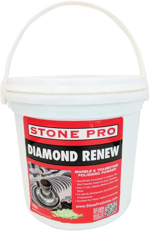 Stone Pro Diamond Renew - Marble and Travertine Polishing Powder