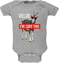 Animal World Relax I've Goat Got This Soft Baby One Piece