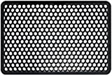 Shepherd Hardware 8101E Indoor/Outdoor Recycled Floor 22 x 34 x 1/2 Inches, Black Rubber Mat