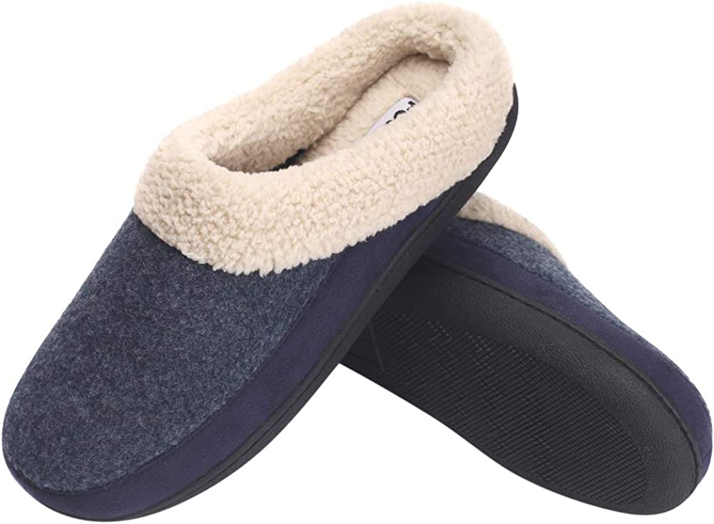 B-BEE Women's Men's House cheap Slippers Cozy Two-Tone Bedroom Topics on TV An Knit
