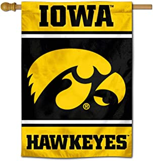Iowa Hawkeyes Two Sided and Double Sided House Flag