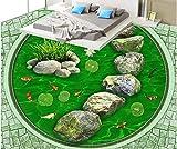 Boden Aufkleber 3D Bodenaufkleber 3D Tapetenboden Für Wohnzimmer Fisch Lümmel 3D Stereoskopische Tapetenboden Tapetenboden Wandbild-300 * 210Cm Wandbild Tapete Wohnzimmer Schlafzimmer Sofa Hintergru