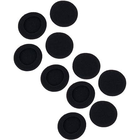 【ノーブランド品】交換用イヤーパッド イヤークッション 50mm 10個セット KOZEEY