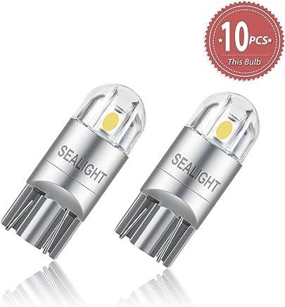 T10 3030 2SMD W5W 6000K Coche LED Bombillas SEALIGHT para Luces de Posición Laterales Luz de