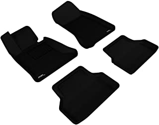 3D MAXpider - L1BM05001509 Complete Set Custom Fit All-Weather Floor Mat for Select BMW 5 Series (E60) Models - Kagu Rubbe...