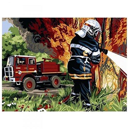 Kit Canevas Pompier - 26