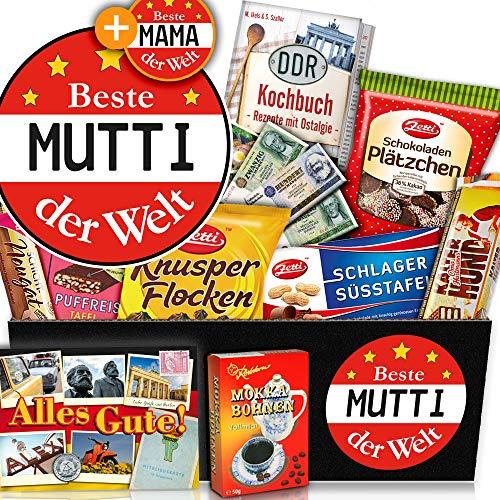 Beste Mutti der Welt + DDR Geschenkbox + Geburtstag Geschenkideen