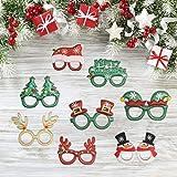 Immagine 1 tazemat 12 pcs occhiali natalizi