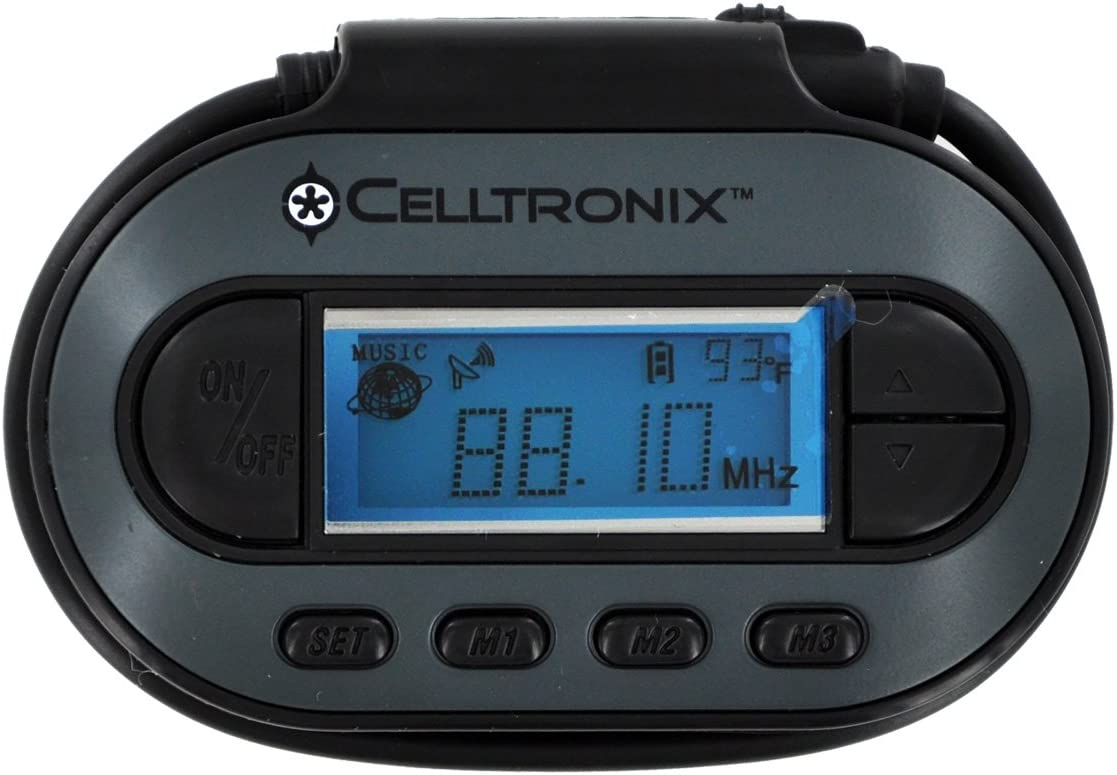 Celltronix 06-CE-2152 Universal FM Las Vegas Mall Discount mail order Transmitter Play for iPod MP3