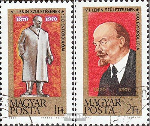 Prophila Collection Ungarn 2581A-2582A (kompl.Ausg.) 1970 10. Geburtstag Lenins (Briefmarken für Sammler)