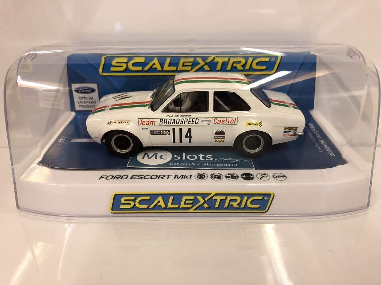 Scalextric C3924 Ford Escort Mk I Team Castrol Brands Hatch 1971