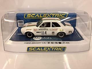 Scalextric Ford Escort MK1- Brands Hatch 1971 Team Castrol 1:32 Slot Race Car C3924