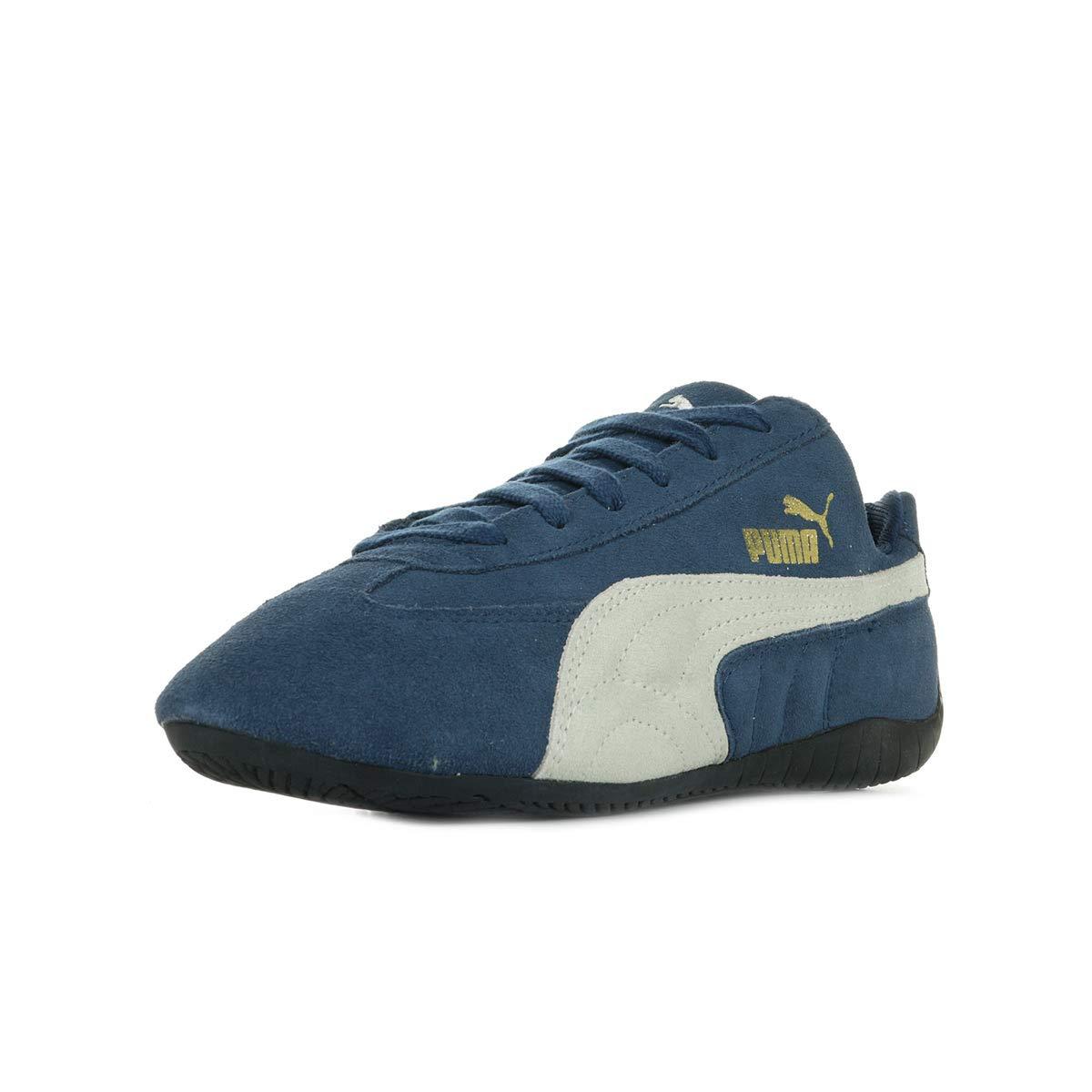Puma Speed Cat Unisex Adult Low Top Sneakers, insignia blue-natural, 36 EU