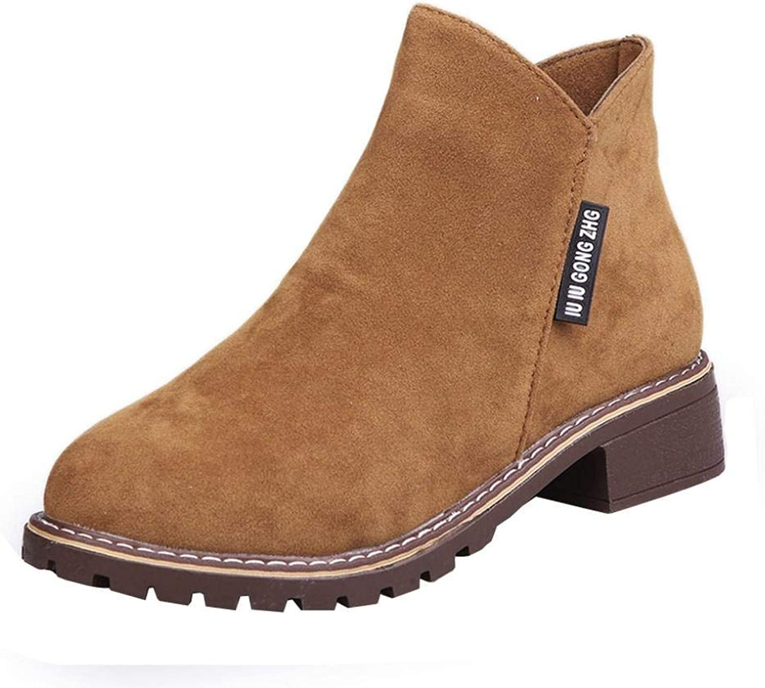 So8ooa Lady Boots Fashion Women Low Knot Trimming Round Toe Knock Leather Boots Casual Martin shoes Elegant Cosy Wild Tight Super Quality for Womens