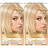 L'Oreal Paris Superior Preference Fade-Defying + Shine Permanent Hair Color, Extra Light Natural Blonde, 2 COUNT Hair Dye