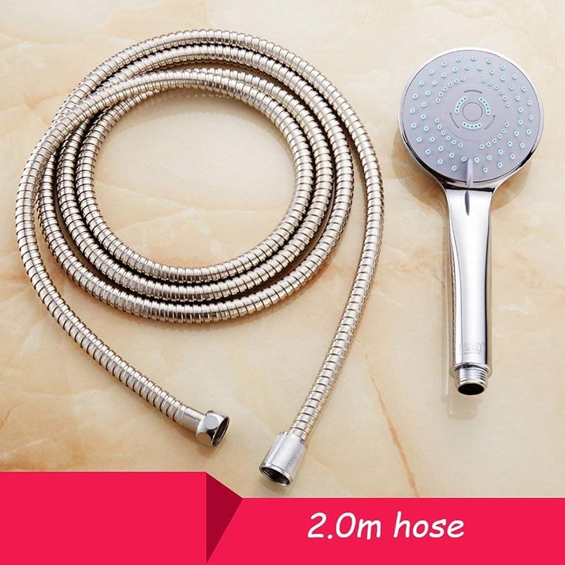 端付属品講義実用的なハンドシャワー ハンドシャワーサードギアシャワーヘッド浴室加圧レインシャワーノズルセット給湯器ハンドヘルド風呂シャワーヘッド (Color : 3)